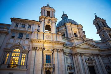 Church at Piazza Navona