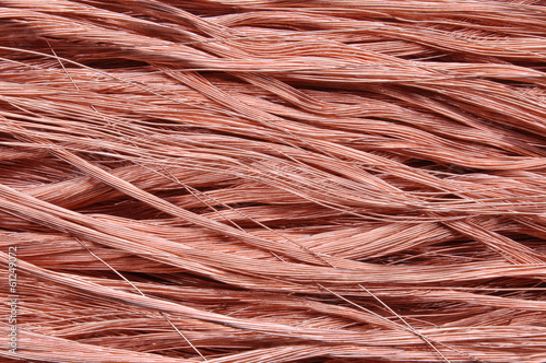 Copper wires background