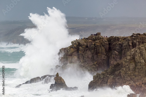Cornish Storm at Sennen Cove