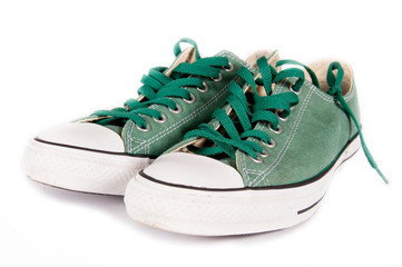 Isolated sneakers