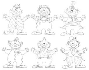 Clown, Clowns, Zirkus, Jahrmarkt