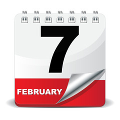 7 FEBRUARY ICON