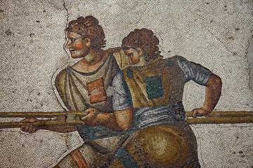 Magnigficent byzantine mosaic