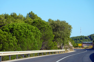 Straße in Kroatien