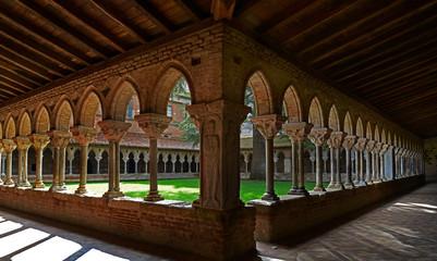Kreuzgang der Abtei Saint-Pierre, Moissac / Südfrankreich