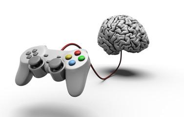 Joypad collegato al cervello