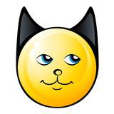 smiling cat - emoticons