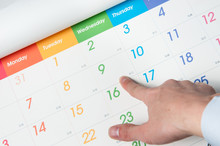 カレンダーの予定