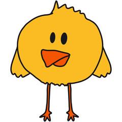 Cute Chick Bird