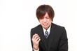 号泣するビジネスマン