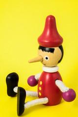 Pinocchio Toy Statue
