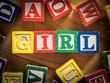 Girl concept