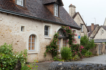 Montresor the charming small country town in the valley of Loire