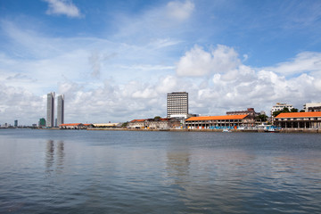 Panorama von Recife in Brasilien