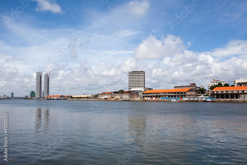 Panorama von Recife in Brasilien
