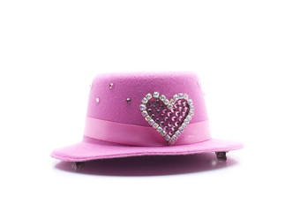 heart pink headdress