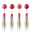 lipstick nail polish beauty make up cosmetics