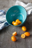 Raw kumquats