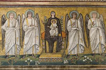 Nativity mosaic, Sant'apolinare nuovo, Ravenna