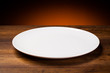 Empty plate - 61263412