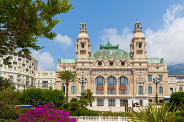 Casino and Opera house in Monte Carlo.
