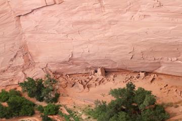 ruines Anasazis canyon de Chelly, Arizona