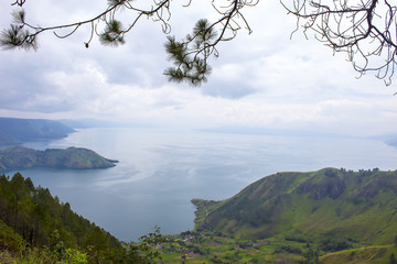 View on Lake Toba