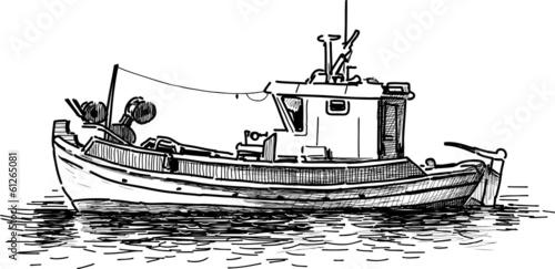fishing boat - 61265081