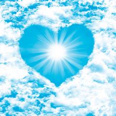 Herz am Himmel