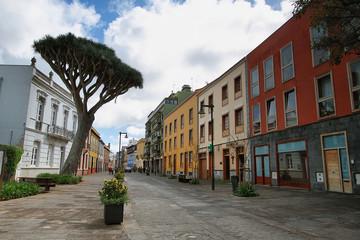 Street in La Laguna, Canary Island Tenerife, Spain