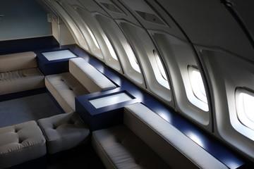 cabine avion première classe