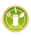 Restaurant icon for fastfood