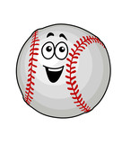 Fun happy baseball ball