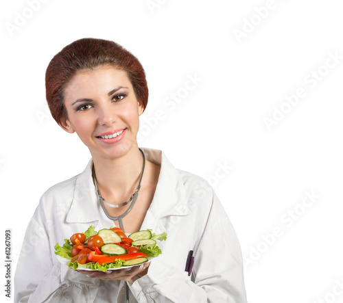 Girl Doctor.Medicine.Medical Healthy Diet