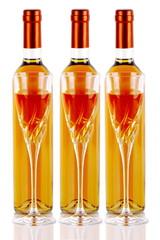Bottiglie di vino dolce