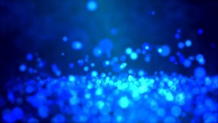 Particle Background - Loop Blue