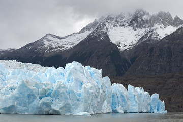 Glacier Gray at the Patagonian Andes