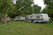 Caravans op een Franse camping - 61269871