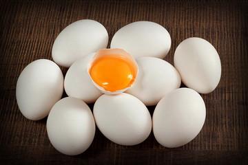 uova bianche livornesi