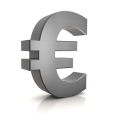 3D - Euro Sign (Metal)