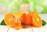 Tangerine essential oil and tangerines