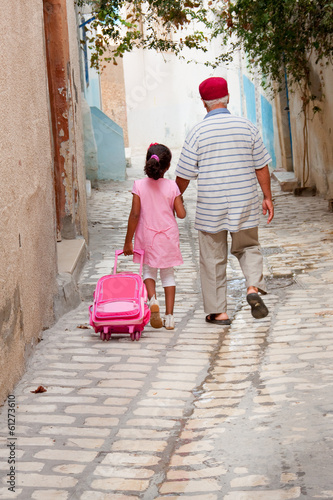 Family in Tunisia