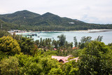 View of Ao Chalok Lam bay at Koh Phangan island, Thailand