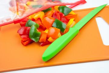 Paprika - Gefrierbeutel