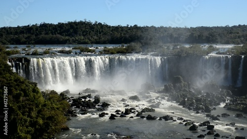 Iguacu waterfalls in Brazil, Argentina