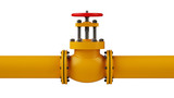 Stop valve and pipeline