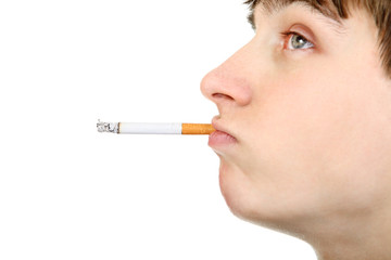Teenager with Cigarette
