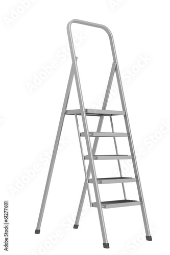 stepladder on a white background