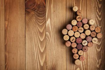 Grape shaped wine corks