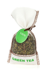 Green tea small bag